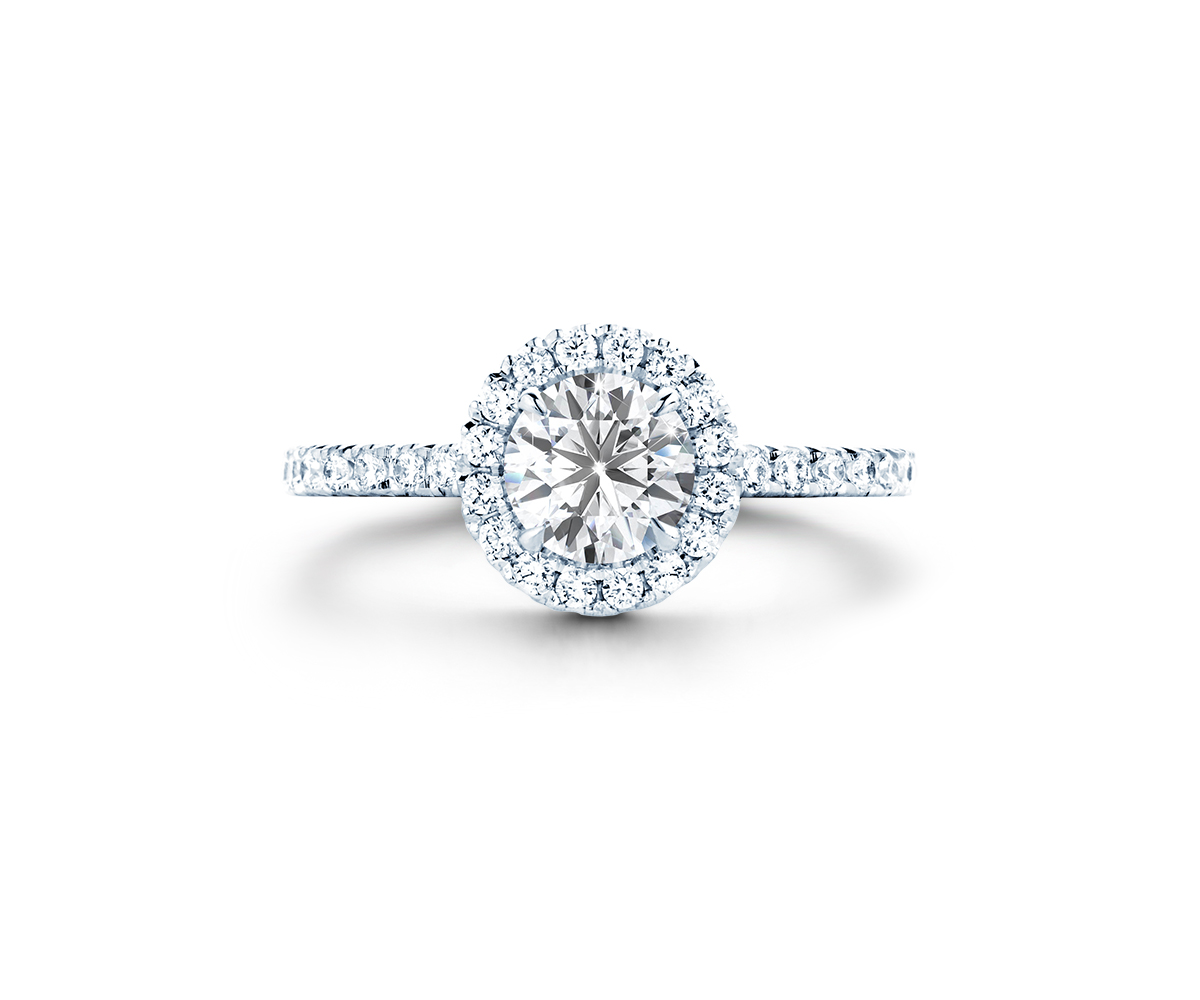 Brilliance Halo Pavé